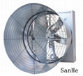 Front Shutter Door (Butterfly )Cone Fan for green house/livestock house 2