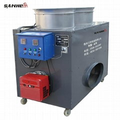 Auto oil-burning heating machine for green house/poultry house
