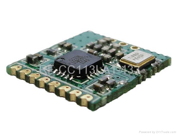 RF-CC113LA1无线射频接收模块 1