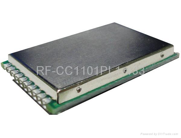 RF-CC1101PL1-433MHz(无线远距离数据传输模块) 1