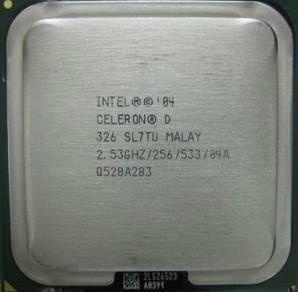 intel celeron d processor: