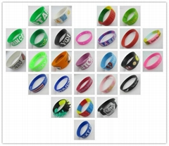 Silicone wristbands&bracelets