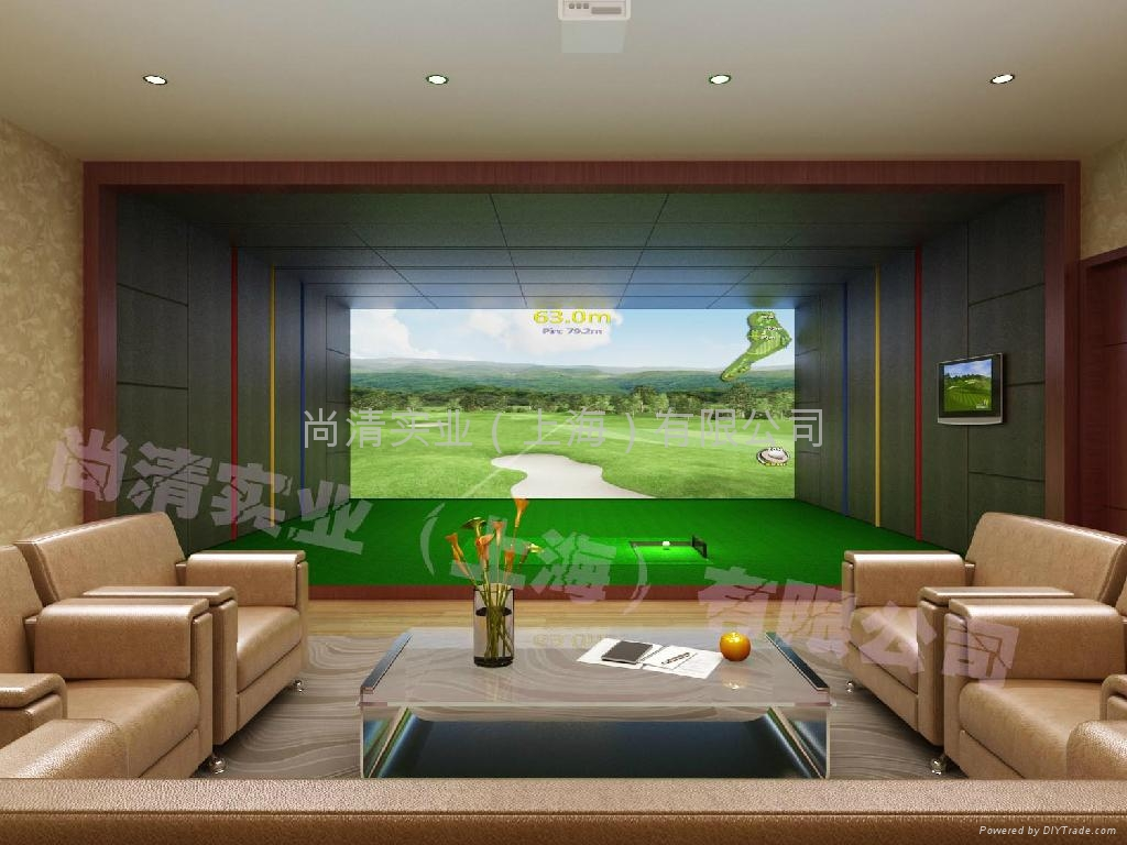 室内高尔夫模拟器 1