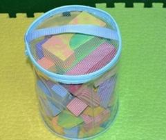 斯尔福EVA框彩色益智软体安全积木玩具