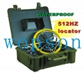 Tube duct inspection cctv camera with
