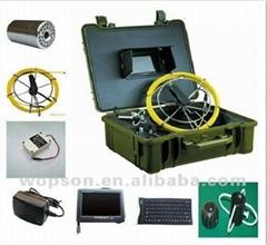 Wireless locator borescope endoscope pipeline drain sewer inspection camera