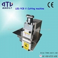 ESD Desktop PCB V Cutting machine for