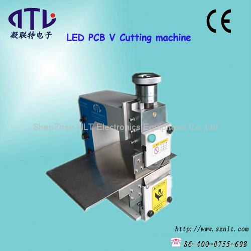 ESD Desktop PCB V Cutting machine for Electronics assembly line