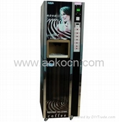 4 cold& 4 hot Coin Operated Coffee Machine