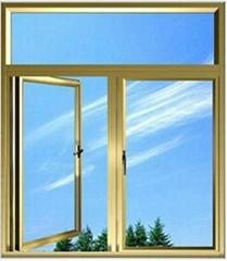 铝合金平开窗