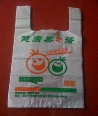 定做PE水果包裝背心袋