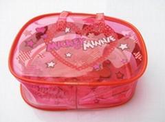 定做PVC儿童用品包装袋