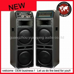 2012 new Stage speaker with USB/SD/FM/LED light