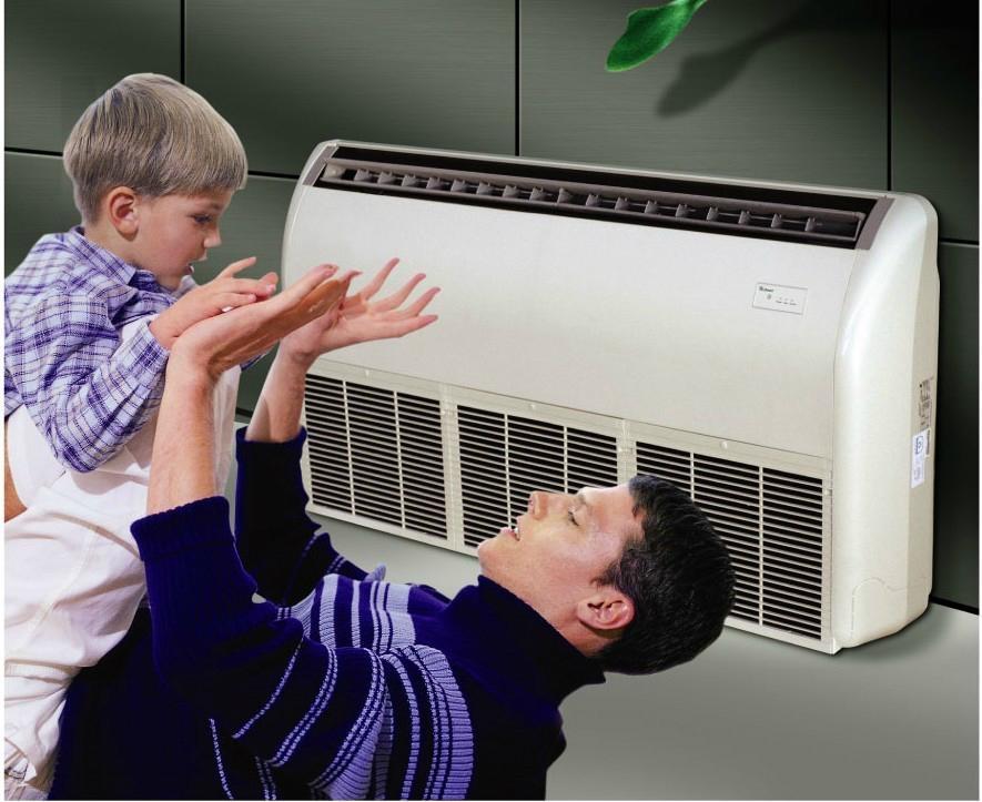 新冷媒高能效坐吊式空調 4