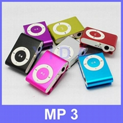 Mini Metal Clip Sport MP3 Music Player With TF Card Slot