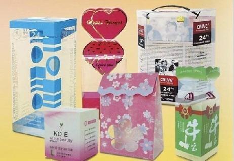 環保PET透明彩印包裝盒 1