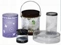 環保PP圓筒透明包裝盒