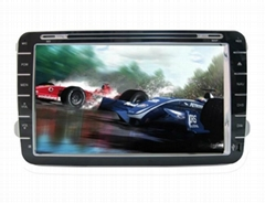 Android car dvd suitable for VW Magotan support GPS,Bluetooth,3g,wifi(RA-H702)