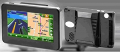 Speed Radar Alarm and GPS Navigator, car gps navigation(IW50)