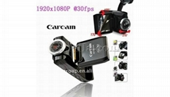2.0 inch screen HD1920*1080P 30fps Car DVR Night Vision Recorder(F2000)