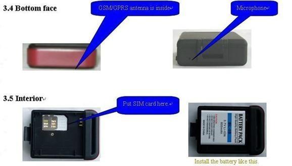 Monitoring and sos panic button gps car tracker 2