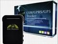 Monitoring and sos panic button gps car tracker 3