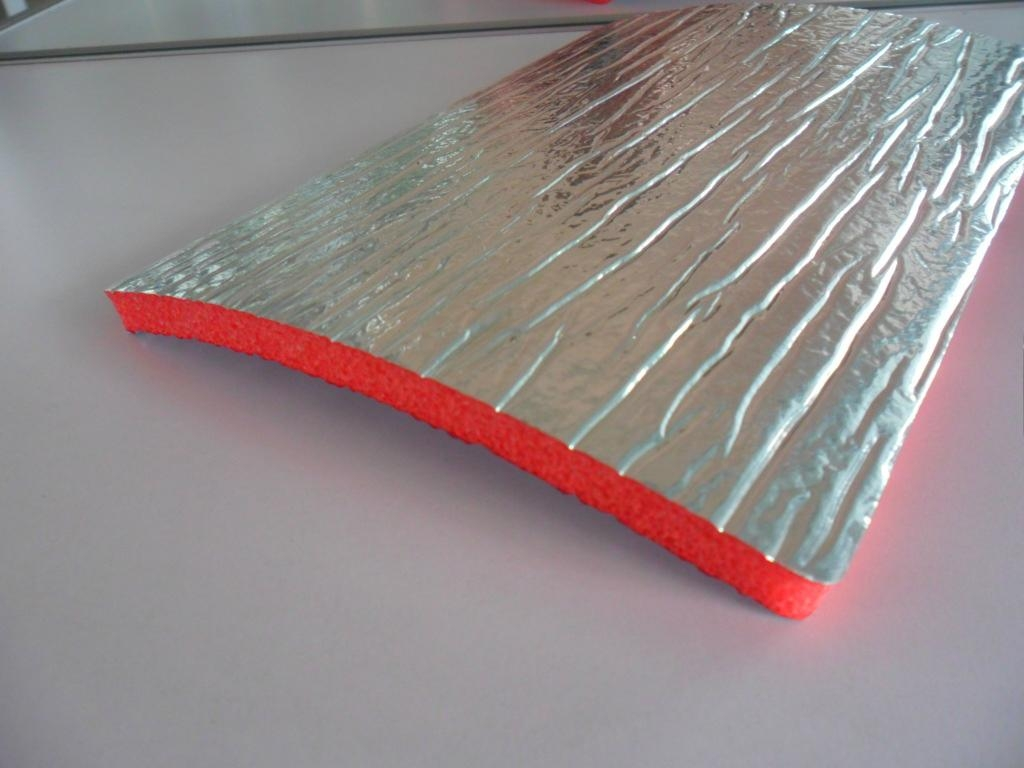 Aluminum foil xpe epe foam heat insulation jy 011 for Is insulation fire resistant