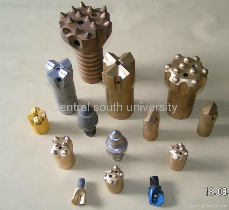 cemented carbide; button bits; tios; cutting tools 5