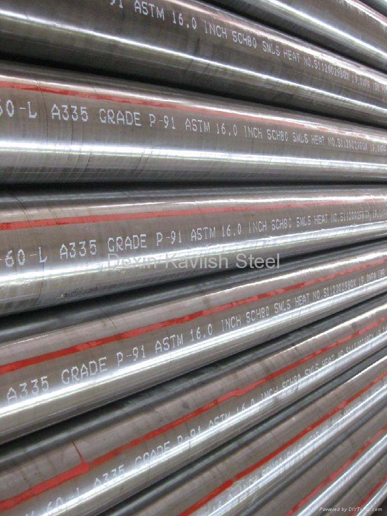 Seamless Alloy Steel Pipe 1