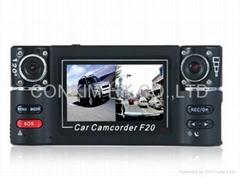 Dual Camera HD Car DVR,Day&Night Mode Switch