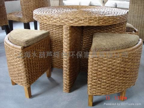 Composite Dinner Table And Chair 5in1 Jd 015 China Manufacturer Leisure