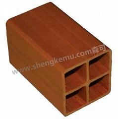 60*60 Square tube  laminate flooring wood floor
