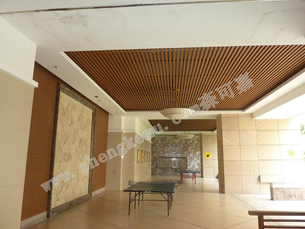 Ceiling tiles composite decking pvc panel sk