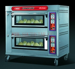 Best price of gas deck oven YXY-40A