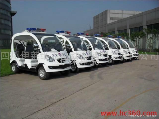 成都IL/GD04电动巡逻车 3