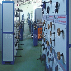 FTTH  terminal optical fiber drop cable production line