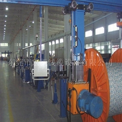 optical fiber sheath and ADSS optical fiber cable production line
