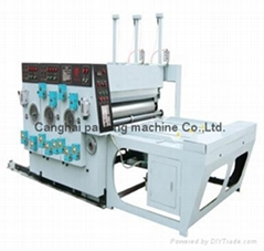 Automatic High-speed Flexo cardboard Printing Slotting Die-cutter machine