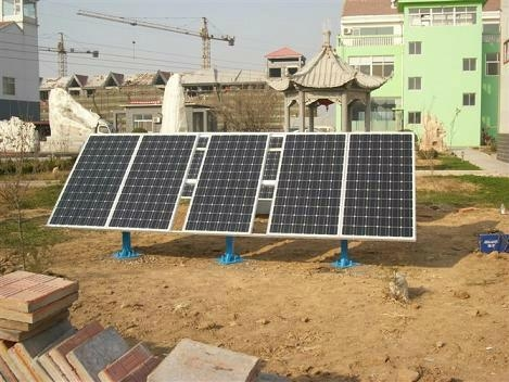 Low cost 3KW off-grid solar system for school,house water