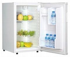 hotel mini bar fridge and refrigerator