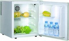 white color 42L hotel minibar refrigerator and fridge