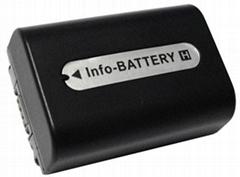 摄像机电池NP-FH50 全解码
