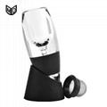 magic decanter wine aerator wine aerating decanter wine pourer wine accessories 2