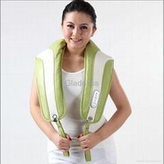 Neck and shoulder massage belt