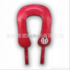Shoulder massager with sync music