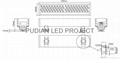 LED Wall Washer  PD-WW002 3