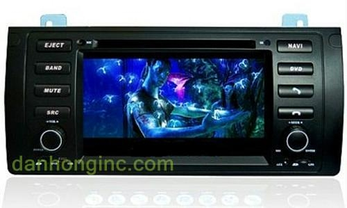 Car GPS with DVD player for BMW E90 3
