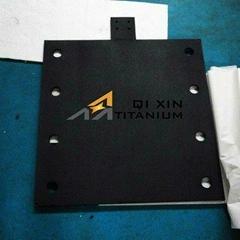 Ruthenium-iridium oxide coated titanium anode