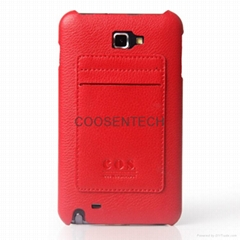 COS-Leather Case Shells for Samsung Galaxy i9220