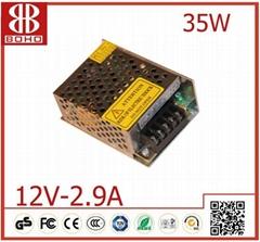 DC12V 36W LED power supply